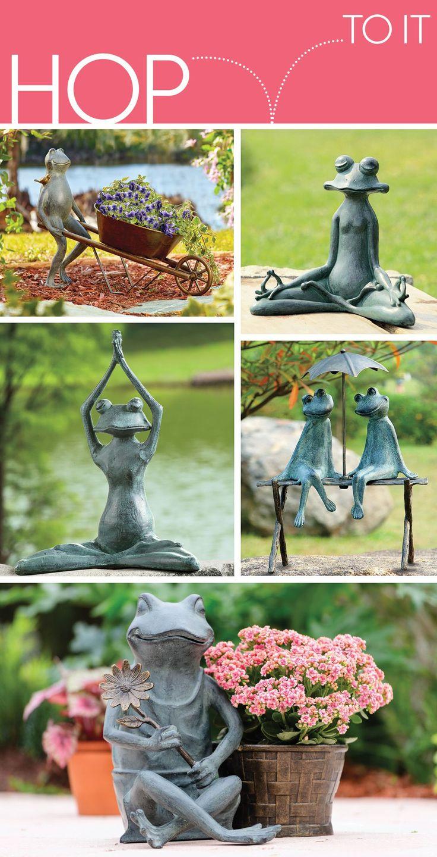 67 best Garden Decor images on Pinterest | Garden statues, Garden ...