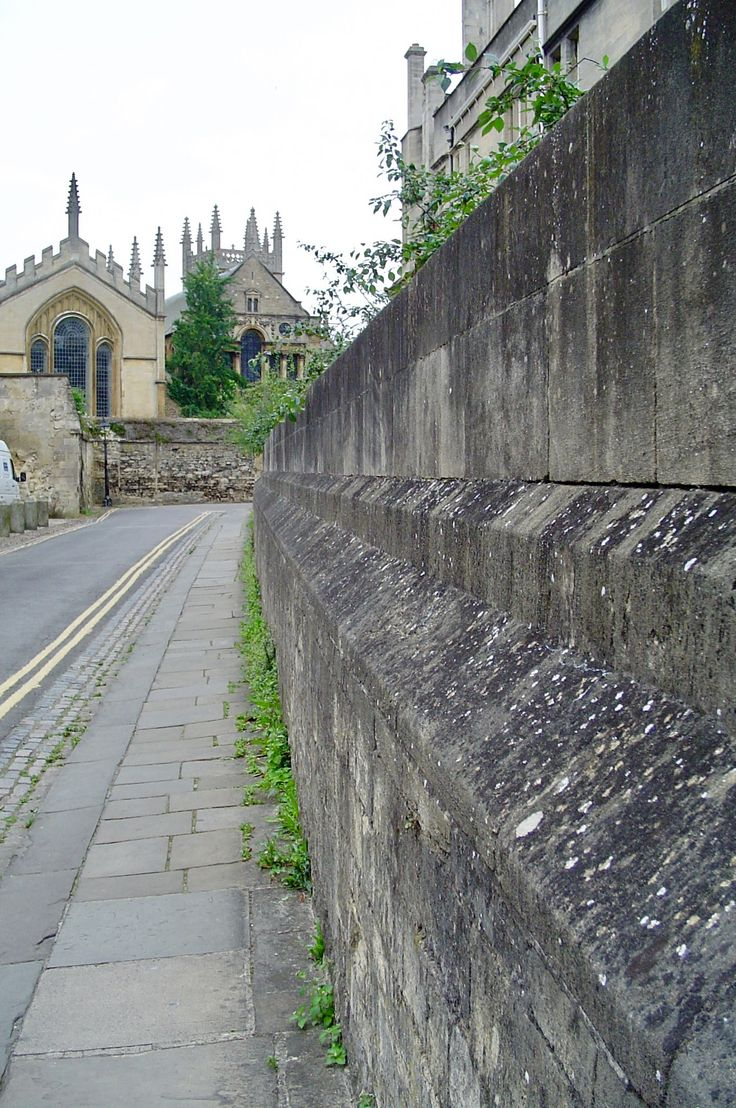 Queen's Lane in Oxford.  One of my favourite streets to walk.  Picture taken by Kathleen Lindsey