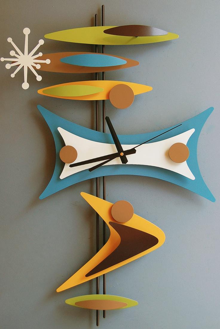 Retro Clock - oh so COOL