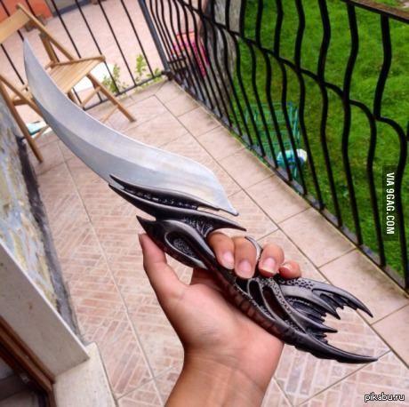 Интересный нож.