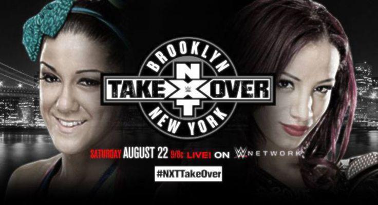 Sasha Banks vs. Bayley en NXT Takeover: Brooklyn / facebook.com/WWE