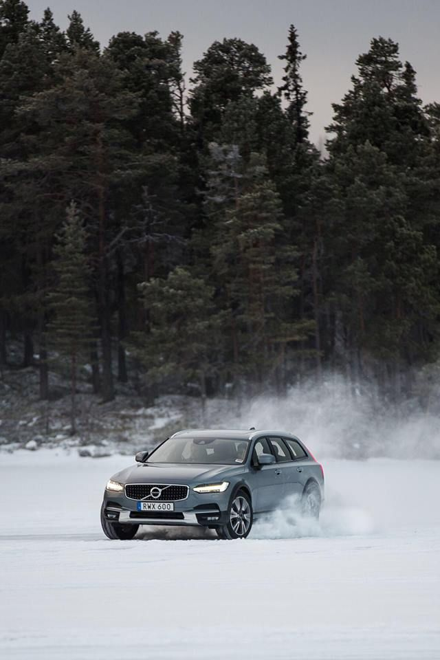 The Volvo V90 Cross Country Was Born For This Cross Country Volvo Volvo Cars