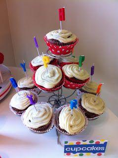 happy bday cupcakes