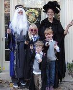 Harry Potter Family Homemade Costume