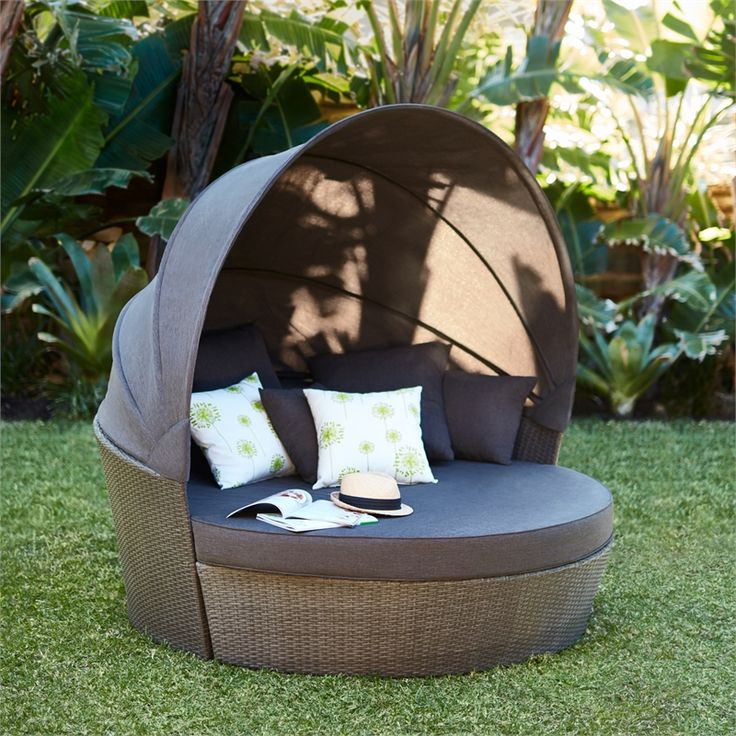 Find Mimosa Waiheke Daybed with Canopy at Bunnings