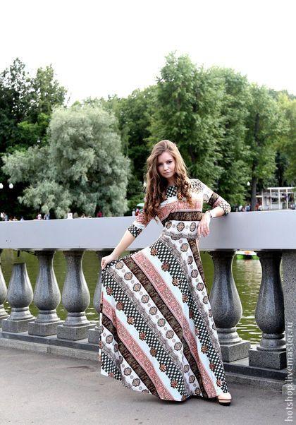 Платье Менди - индийское платье,платье полусолнце,летнее платье,платье с узорами