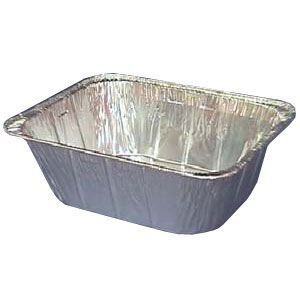 "Foil Chafing Pan, Half Size by Table Mate. $1.79. Manufactured to the Highest Quality.. Design is stylish and innovative. Satisfaction Ensured.. Aluminum Disposable 1/2 Size Deep Steamtable Pans are 12 3/4"" x 10 3/8"" x 4 1/8"" deep."