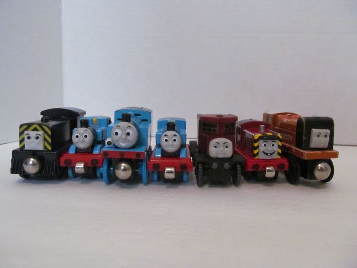 Thomas the Train - Set of 7 train cars- FREE Shipping by CellarDeals on Etsy