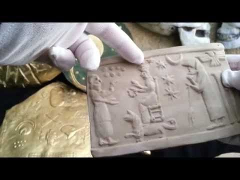 UFO And Alien Egyptian Artifacts Discovered In Jerusalem Kept Secret By Rockefeller Museum