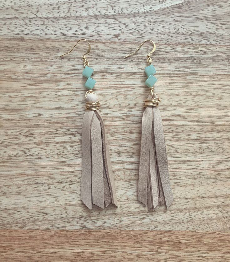 Raven & Riley - The Santa Fe in Beige // @shopravenandriley on Instagram #ravenandriley #handmadejewelry #jewelry