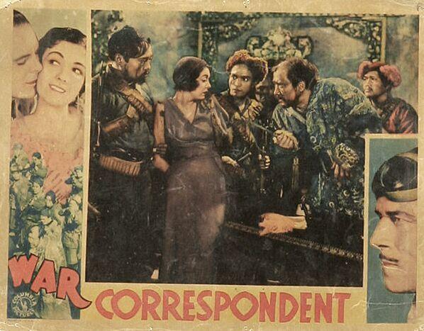 Luke Chan, Chester Gan, Ralph Graves, Jack Holt, Tetsu Komai, Lila Lee, Victor Wong, and Richard Loo in War Correspondent (1932)