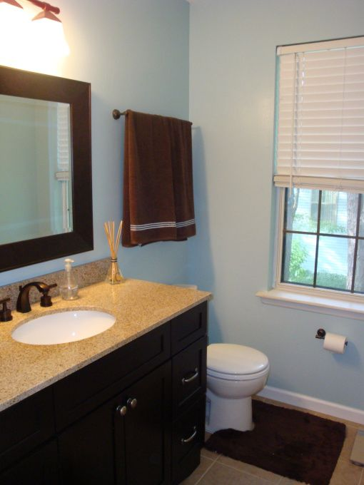 29 Best Blue Brown Bathroom Images On Pinterest Bathroom