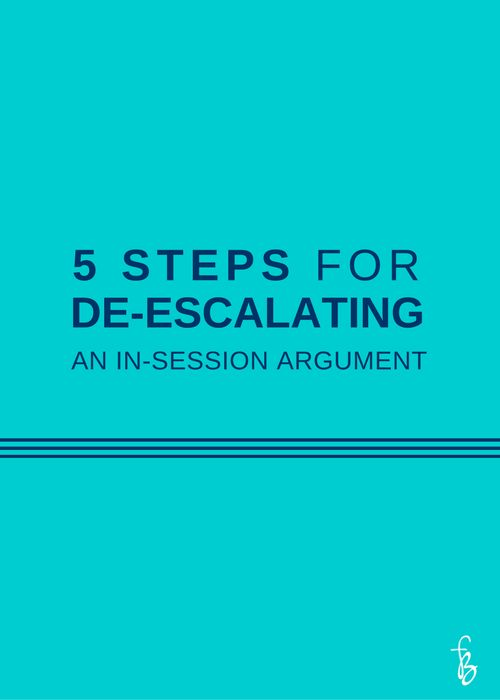 Most of us have been there--a simple disagreement turns into an all-out  screaming match in the middle of a therapy session. This is, thankfully,  not a common situation for most therapists, but it's also not a rare one,  especially for therapists who specialize in couples therapy.  In this post, I cover steps for intervening in an argument occurring in a  couple therapy session. Intervention on the part of the therapist is  necessary during some conflicts, because they can cause further…