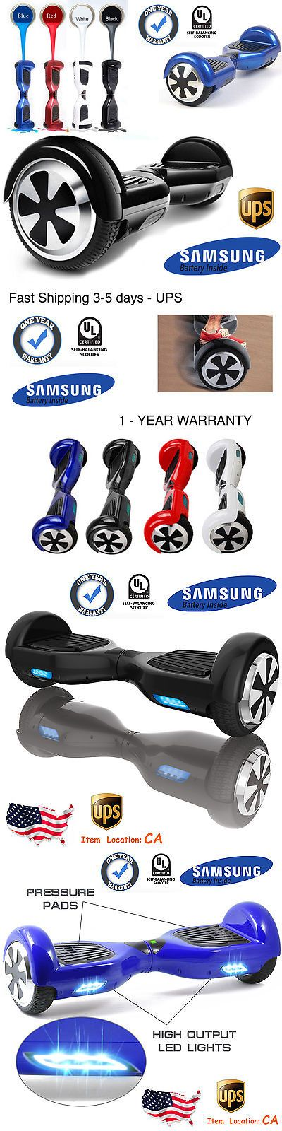 Electric Scooters 47349: 6.5 2Wheel Hoverboard Electric Self-Balancing Scooter Ul2272 Certified-Us Stock -> BUY IT NOW ONLY: $229.99 on eBay!