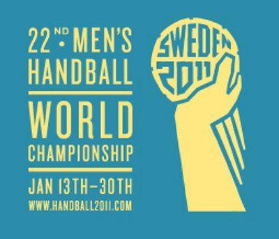 Mundial de Handball Suecia 2011.