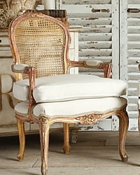 Vintage French Style Louis XV