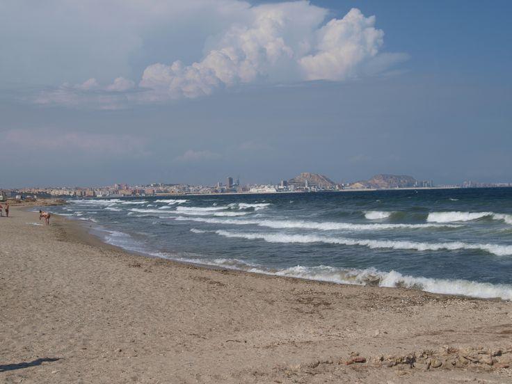 Flashback Summer 2012: Spain! I Miss You! What a beautiful country. I'll come back soon! #spain #alicante #beach #summer #sun #2012 #ocean #sea