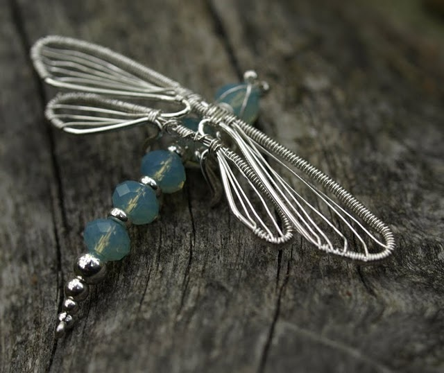dragonfly pendant  Love this. It's odd how detailed it is and yet the wings feel off, but such a great shape.