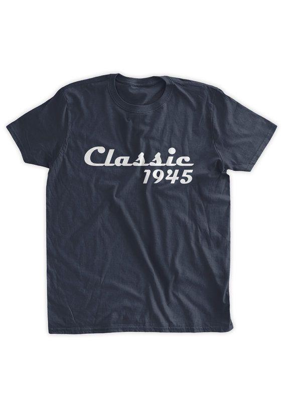 Classic 1945 T-shirt 70th Birthday Tshirt 70th by BumpCovers