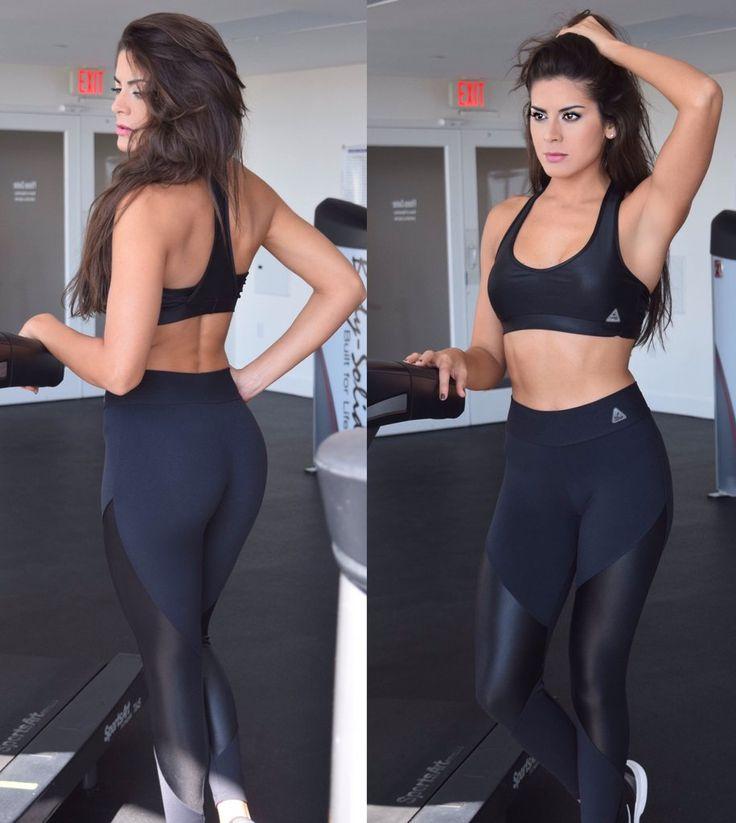Kelly Shiny Cirre Black Top – Up Vibe Fitness Wear