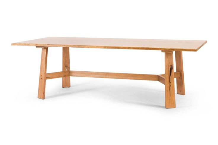 Otway Dining Table, an Australian made Mountain Ash table. Have it made in your choice of stain, size and wood. From Urban Rhythm, Melbourne urbanrhythm.com.au