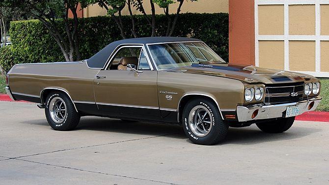 1970 Chevrolet El Camino SS 396/350 HP, 4-Speed presented as lot F178 at Austin, TX 2014 - image1