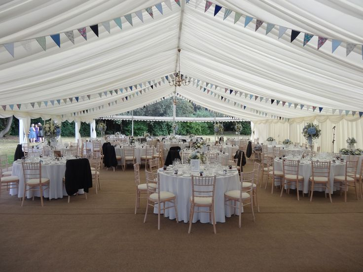 Our beautiful new marquee with a stunning panoramic window. #weddingmarquee #marqueehire #summerwedding