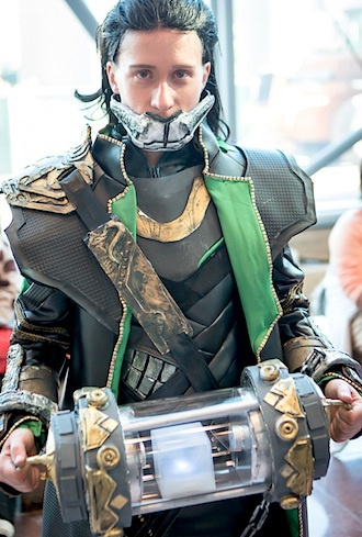 Who and where is this person? I want to give them a high five for their amazing craftsmanship. This is one of the BEST Loki Cosplays I have ever seen!