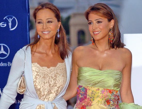 Isabel Preysler y su hija Tamara