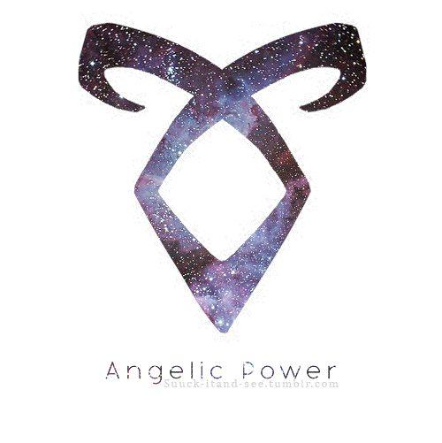 angelic power not mine