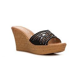 Italian Shoemakers Teagan Wedge Sandal