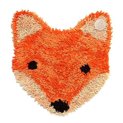 Rug . Small Rug / Bath Mat - Fox - This Modern Life