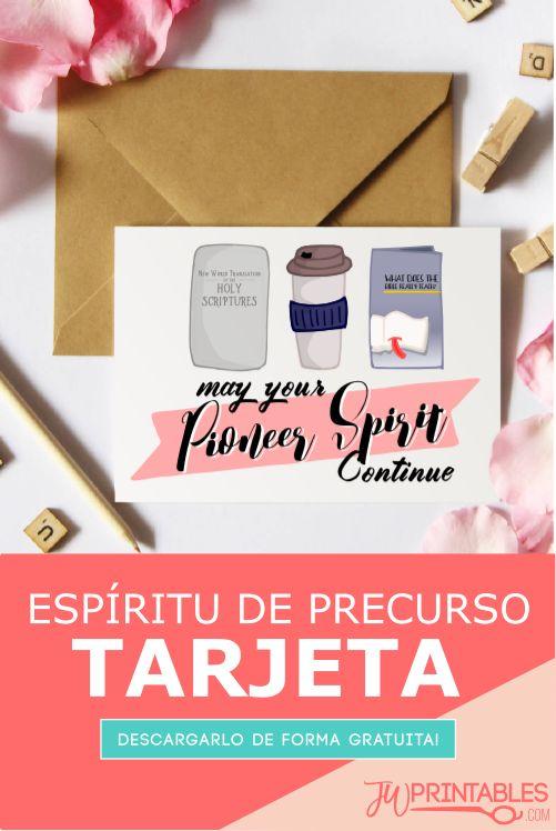 Espíritu de Precursor Tarjeta | JW Printables