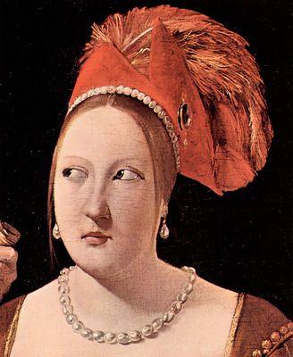 Woman's head by La Tour. Order from DEKORAMI as a poster, canvas print, mural. Zamów jako obraz na płótnie, plakat lub fototapetę na DEKORAMI.pl