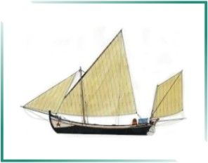 PORTUGAL MARÍTIMO: BARCOS TRADICIONAIS PORTUGUESES - Enviado do Atum É uma bela e elegante embarcação de Vila Real de Santo António