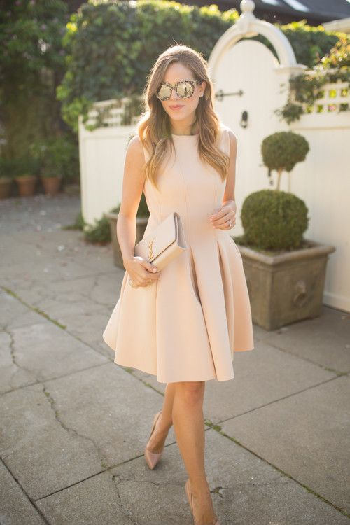 Nude and Blush Cocktail & Party Dresses - Shop Now