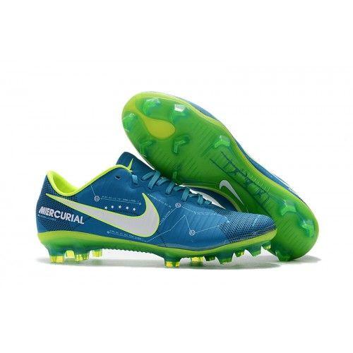 Nike Jr. Mercurial Vapor XI Neymar FG Football Boots Blue