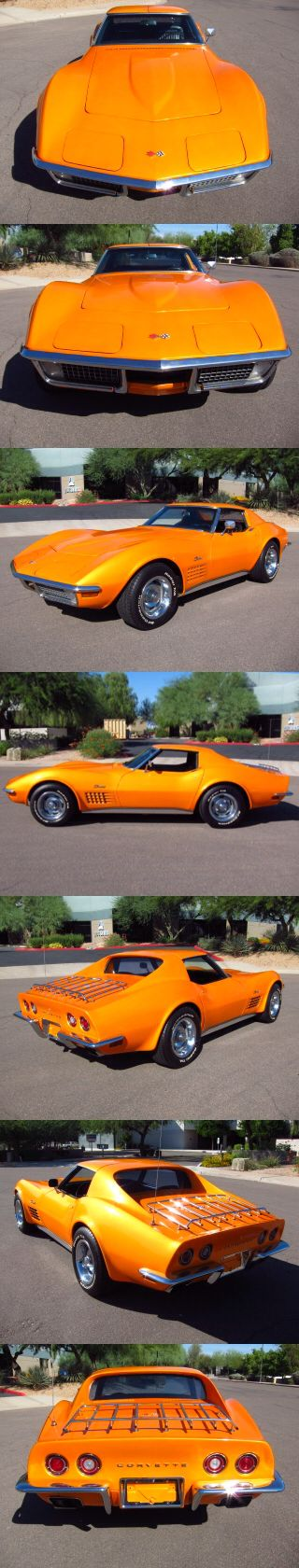 1970 Chevy Corvette. Now that's nice....