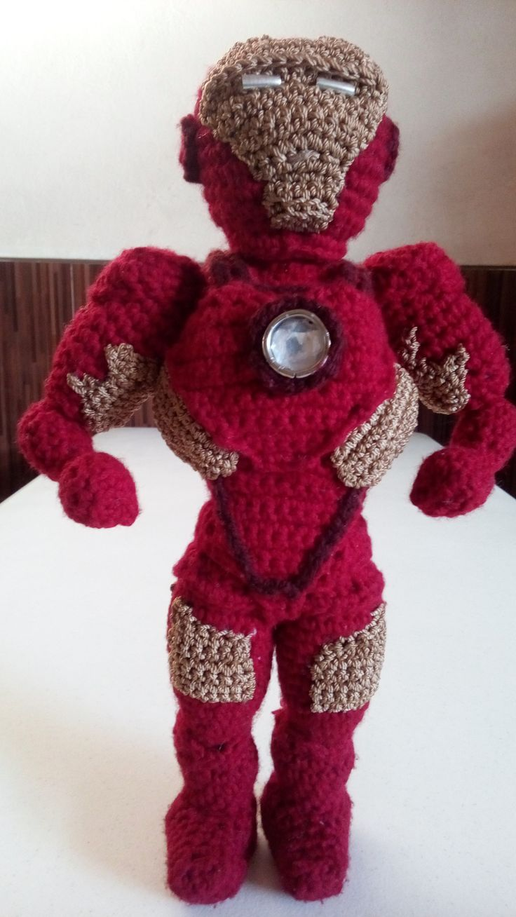 amigurumi iron man