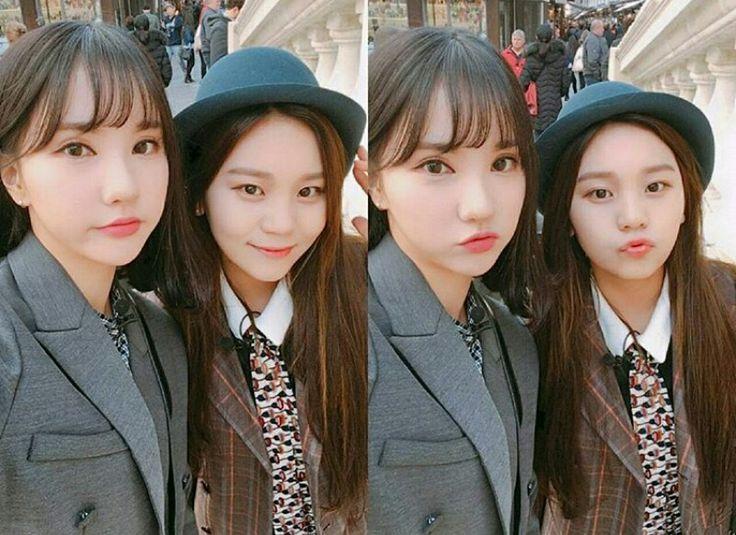 ♡ 여자친구 GFriend ♡ ♤ : Eun Ha & Umji # : IG Update