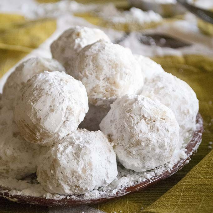 Must Make Walnut Snowball Cookies Or Mexican Wedding Cake Cookies Are The Best Recipe Snowball Cookies Russian Tea Cakes Cookies Powdered Sugar Cookies
