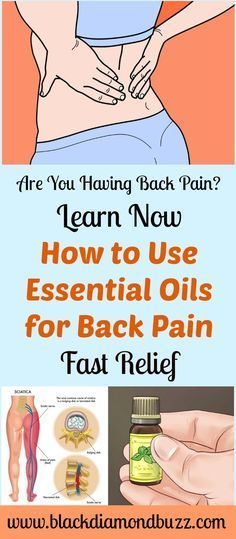 Are You Having Back Pain? Learn Now How to Use Essential Oils for Back Pain Fast Relief. This works fast for inflammation, arthritis, sciatica, lower and upper back pain .Just massage oil at affect area and get fast relief. Learn more