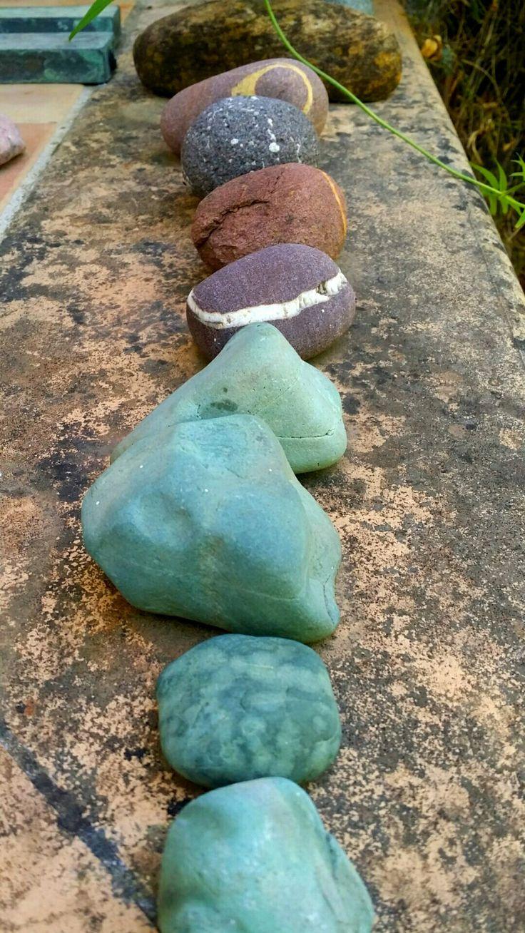 Stones fron  Liguria, Greece & Mallorca