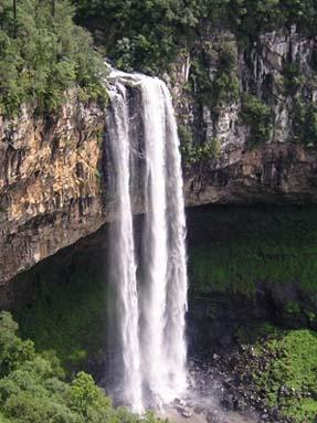 Cachoeira do Caracol - Gramado - Brasil. Linda de todos os ângulos.