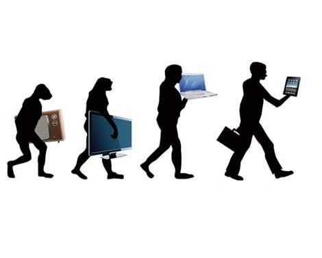 evolutie van de technologie