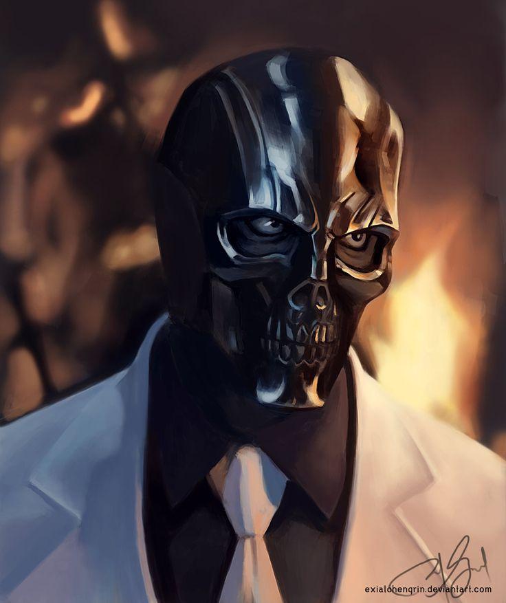 Black Mask by ExiaLohengrin.deviantart.com on @deviantART