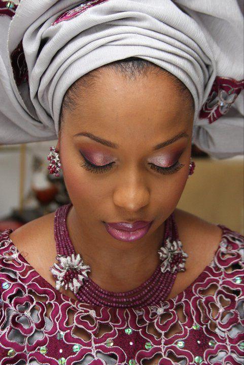 Beautiful African bride