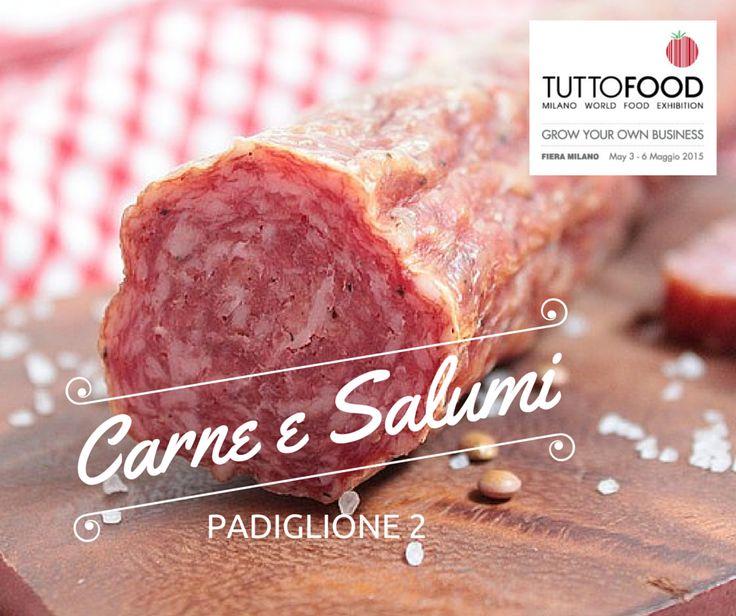 TUTTOFOOD 2015 - Pavilion Meat & Cured Meats Rovagnati, Beretta, Citterio, Fiorucci e Golfera sono solo alcune delle grandi realtà coinvolte nella prossima edizione di TUTTOFOOD 2015 dal 3 al 6 maggio a Fiera Milano