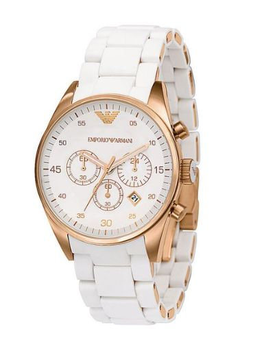 18e327006e874 white and gold is perfect combination for watch wearer. tic 2 toc   Michaelkorswatchforwomen