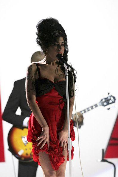 Amy Winehouse Photos - Rehearsals At The Brit Awards 2007 - Zimbio
